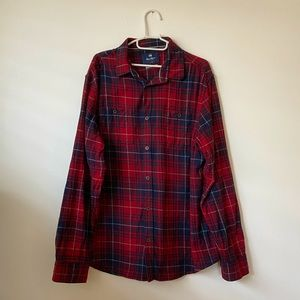 ⚡️2 for $20⚡️ Wind River Plaid Button Down Shirt